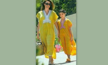 Μάνα και κόρη στα κίτρινα!