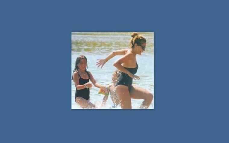 Δέσποινα Βανδή: Διακοπές με την Μελίνα και τον Γιώργο