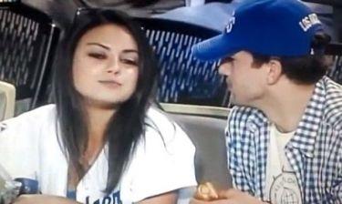 Ashton Kutcher – Mila Kunis: Απολαμβάνουν αγώνα μπέιζμπολ