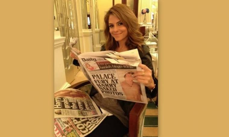 Η Μαρία Μενούνος και… το σκάνδαλο του πρίγκιπα Χάρι με τις γυμνές φωτογραφίες!