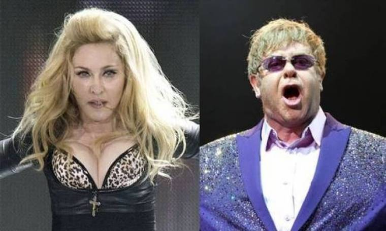 Madonna: Συγχωρεί τον Elton John και του στέλνει το δικό της μήνυμα!