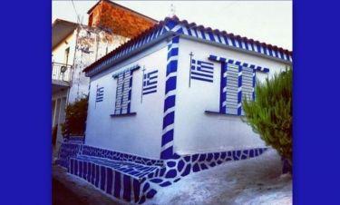Το σπίτι-«σημαία» που άφησε άφωνο γνωστό παρουσιαστή
