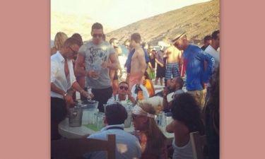 «Χαμός» στο party του David Morales στη Μύκονο