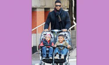 Usher: Πήρε την κηδεμονία των παιδιών του!