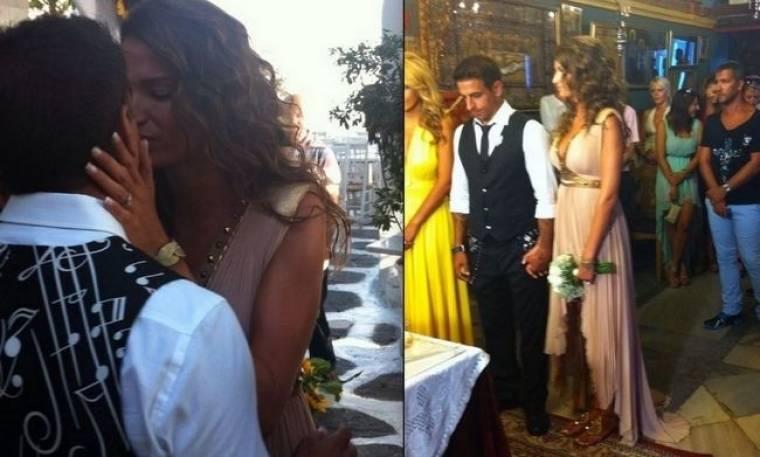 ΑΠΟΚΛΕΙΣΤΙΚΟ: Εύα Λάσκαρη-Ντίνος Τσιώρης: Παντρεύτηκαν στη Μύκονο
