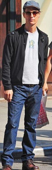 Πιο αδύνατος από ποτέ ο Matthew McConaughey!