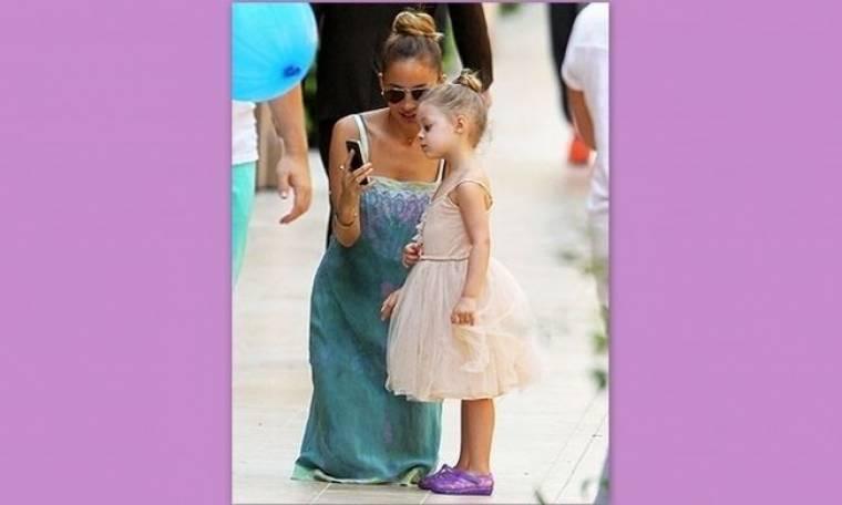 Η Nicole Richie ασορτί με την κόρη της