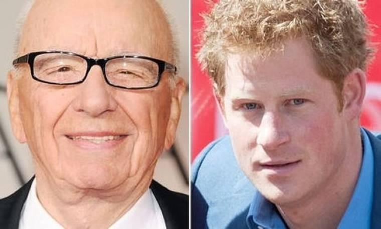 Rupert Murdoch: Αφήστε ήσυχο το Harry