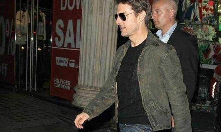 Tom Cruise: Γιατί βρέθηκε στο Λονδίνο