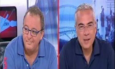 «Κοινωνία ώρα Mega»: Με τρακ ο Καμπουράκης, σαν να μην πέρασε μια μέρα ο Οικονομέας!
