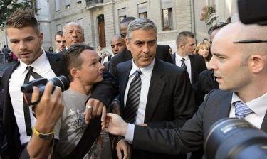 Ο George Clooney στην Ελβετία για τον Barack Obama