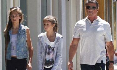 Sylvester Stallone: Παρηγοριά στο πλευρό των δυο κοριτσιών του