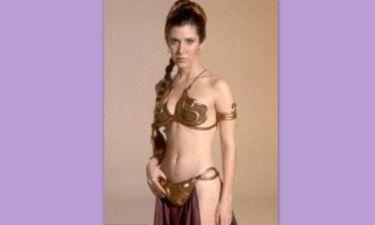 Σοκ! Δείτε πώς είναι σήμερα η Carrie Fisher (πριγκίπισσα Leia στον «Πόλεμο των Άστρων»)