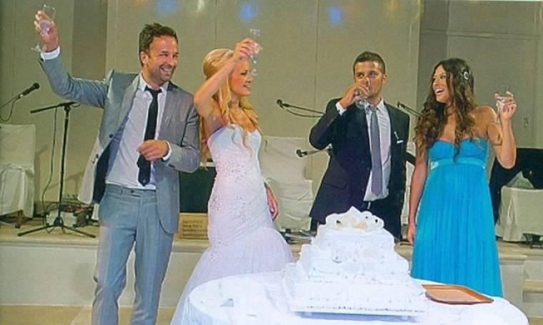 Λιανός-Ανδροτσάκη: Κουμπάροι στον γάμο των καλύτερών τους φίλων