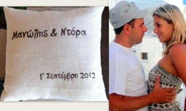 Οι πρώτες φωτογραφίες από τις προετοιμασίες για τον αποψινό γάμο της Ντόρας Κουτροκόη!