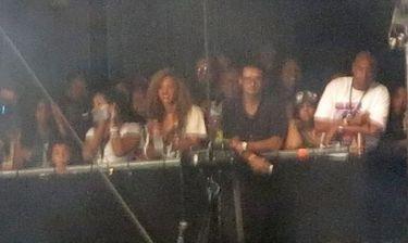 Beyonce: Στηρίζοντας τον Jay Z στη συναυλία