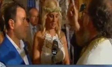Ντόρα Κουτροκόη: Δείτε πλάνα από το γάμο της!