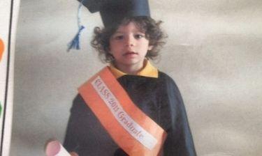 Ο γιος του Μαρσέλο… αποφοίτησε
