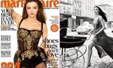 Miranda Kerr: Δείτε τη φωτογράφηση για το Marie Claire