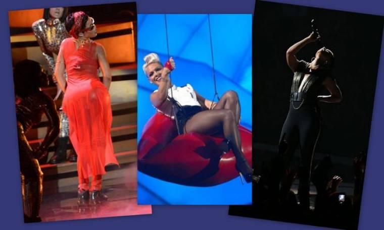 MTV Video Music Awards: Η επιστροφή της Pink, η ολοκαίνουργια Rihanna και η παρουσία του Pattinson μετά το σκάνδαλο!