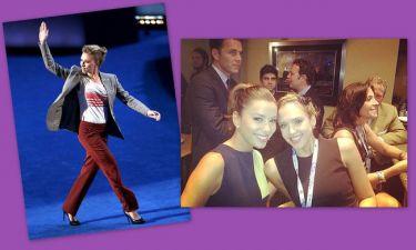 Scarlett Johansson, Eva Longoria, Jessica Alba, στο Συνέδριο των Δημοκρατικών