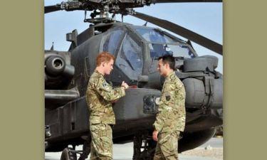 Μετά το σκάνδαλο με τις γυμνές φωτογραφίες, στο Αφγανιστάν ο πρίγκιπας Χάρι!