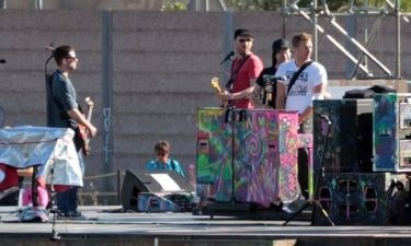 Η προετοιμασία των Coldplay για την τελετή λήξης των Παραολυμπιακών