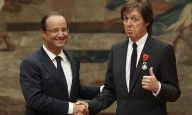Paul McCartney: Έλαβε το μετάλλιο της Λεγεώνας της Τιμής