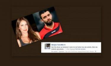 Στέλλα Γιαμπουρά-Γιώργος Τζαβέλας: Ο οριστικός χωρισμός… και το μήνυμα του ποδοσφαιριστή στο facebook! (Nassos blog)