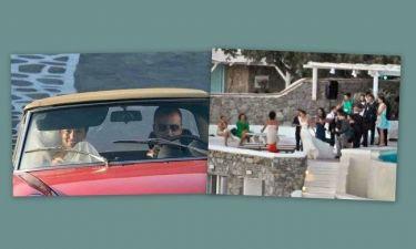 Ο γάμος που έφερε τους Ιταλούς paparazzi στην Μύκονο