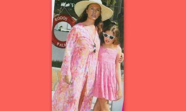 Φαίδρα-Θεοδώρα Μαρασλή - Βάνα Μπάρμπα: Μαμά και κόρη το ίδιο στυλ!