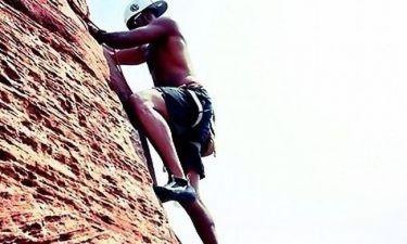 Ο… ορειβάτης Λούις Χάμιλτον