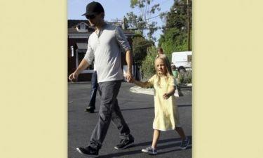 Tobey Maguire: Με την κόρη του για φαγητό!
