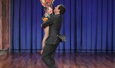 Πήγε στην εκπομπή του Jimmy Fallon και το έριξε στο χορό