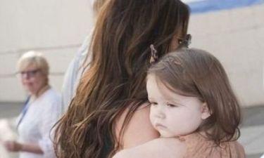 Harper Seven & Victoria Beckham: Τα κορίτσια της οικογένειας κάνουν βόλτες στο Μανχάταν