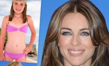 Elizabeth Hurley: Η παιδική swimwear σειρά της προκαλεί αντιδράσεις