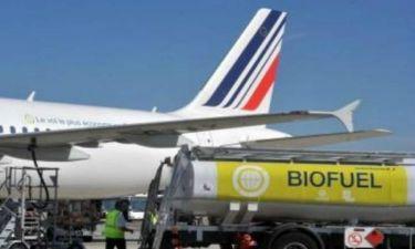 Αεροπλάνα με καύσιμο... άχυρα και πριονίδι!