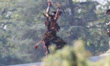 Johnny Depp: Γυρίζοντας επικίνδυνες σκηνές για τη νέα του ταινία!