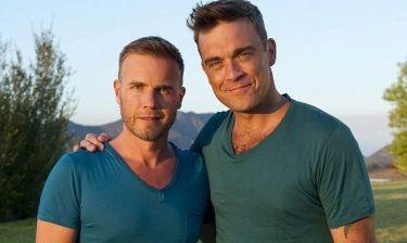 Gary Barlow: Ο πρώτος που ευχήθηκε στον Robbie Williams