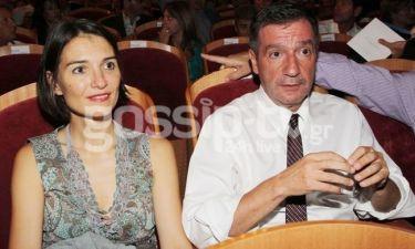 Ο Γιώργος Καμίνης με τη σύζυγό του σε μια σπάνια εμφάνιση!