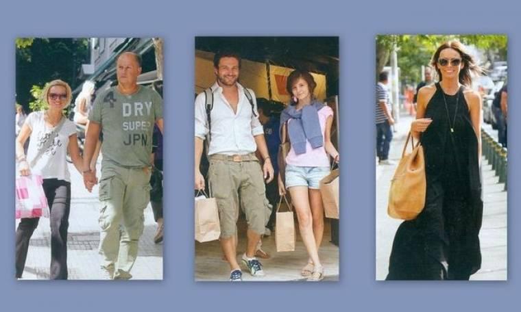 Αγαπημένα πρόσωπα σε χαλαρές βόλτες