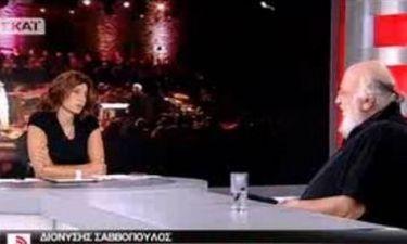 Η βωμολοχία του Σαββόπουλου on air: «Όποιος γ… τον Χατζιδάκι να έρθει να του δώσουμε λεφτά»