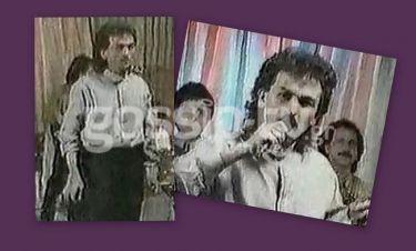Τον αναγνωρίζετε στην πρώτη του τηλεοπτική εμφάνιση;