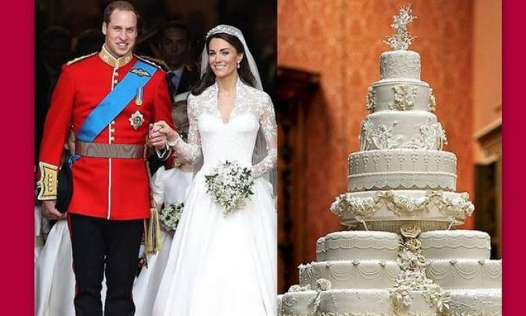 Απίστευτο! William-Kate: Σε δημοπρασία κομμάτι από την γαμήλια τούρτα τους με αρχική τιμή 2.500 ευρώ!