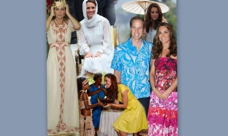 Τι φόρεσε η Kate Middleton στην περιοδεία της στην Ασία;