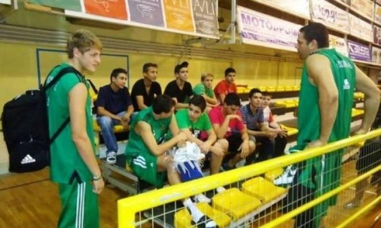 Παναθηναϊκός: Μαθητές γυμνασίου «ανέκριναν» Διαμαντίδη, Τσαρτσαρή