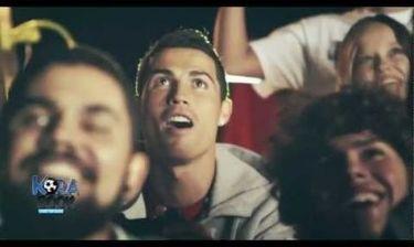 Ο Κριστιάνο Ρονάλντο πρωταγωνιστεί στην διαφήμιση για το PES