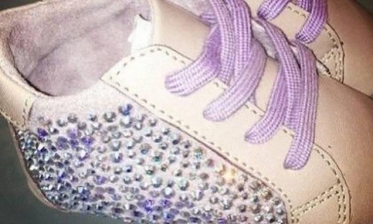 Δείτε το πρώτο ζευγάρι παπουτσάκια που μόλις απέκτησε η κόρη της Beyonce