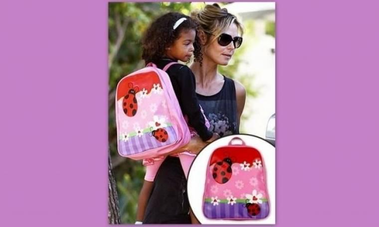 Η κόρη της Heidi Klum προτιμά τις πασχαλίτσες
