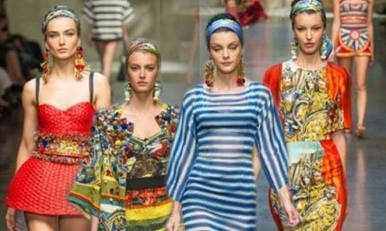 Μύρισε Άνοιξη το Φθινόπωρο: Dolce & Gabbana S/S 2013